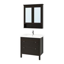HEMNES/ODENSVIK Muebles baño j4