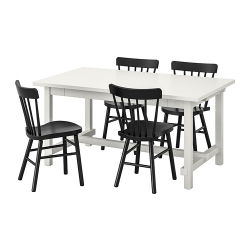NORDVIKEN/NORRARYD Mesa con 4 sillas