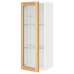 SEKTION Armario de pared+puerta de vidrio