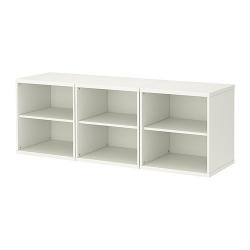 STUVA Combinación de almacenaje+estantes