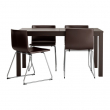 BJURSTA/BERNHARD Table and 4 chairs