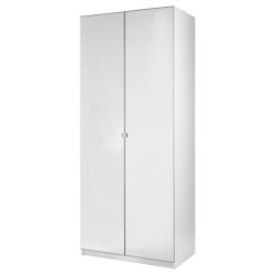 PAX Wardrobe with 2 doors, white