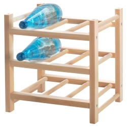 HUTTEN Botellero para 9 botellas
