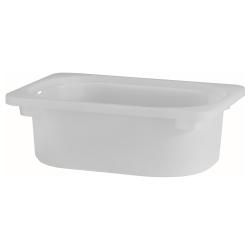 TROFAST Caja blanco/transp