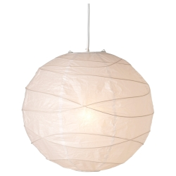 ILSBO Pantalla para lámpara de techo, bambú, 45 cm IKEA