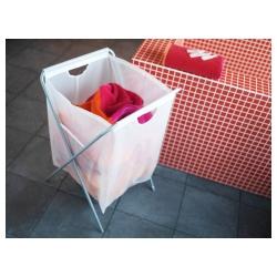 JÄLL Bolsa para ropa sucia+soporte
