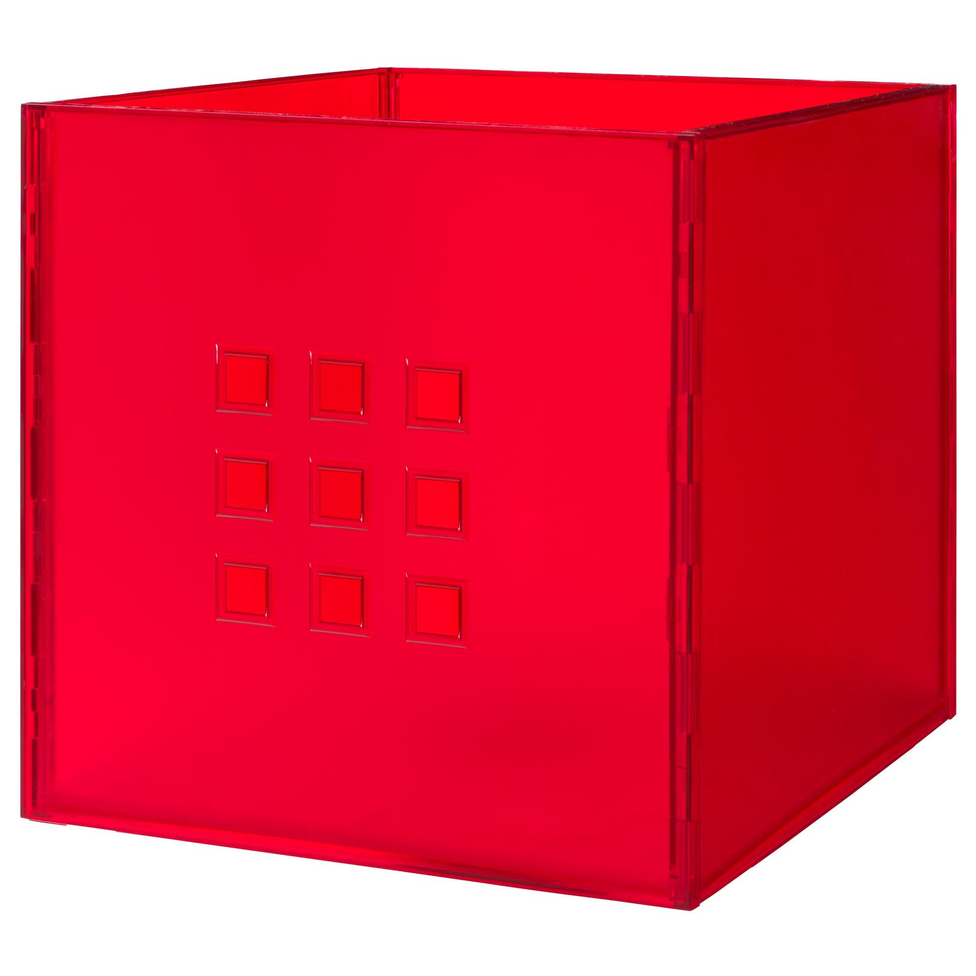 Lekman caja roja - Cajas de almacenaje ikea ...