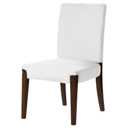 HENRIKSDAL Armazón de silla marrón