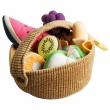 DUKTIG Juego cesta de fruta 9 piezas