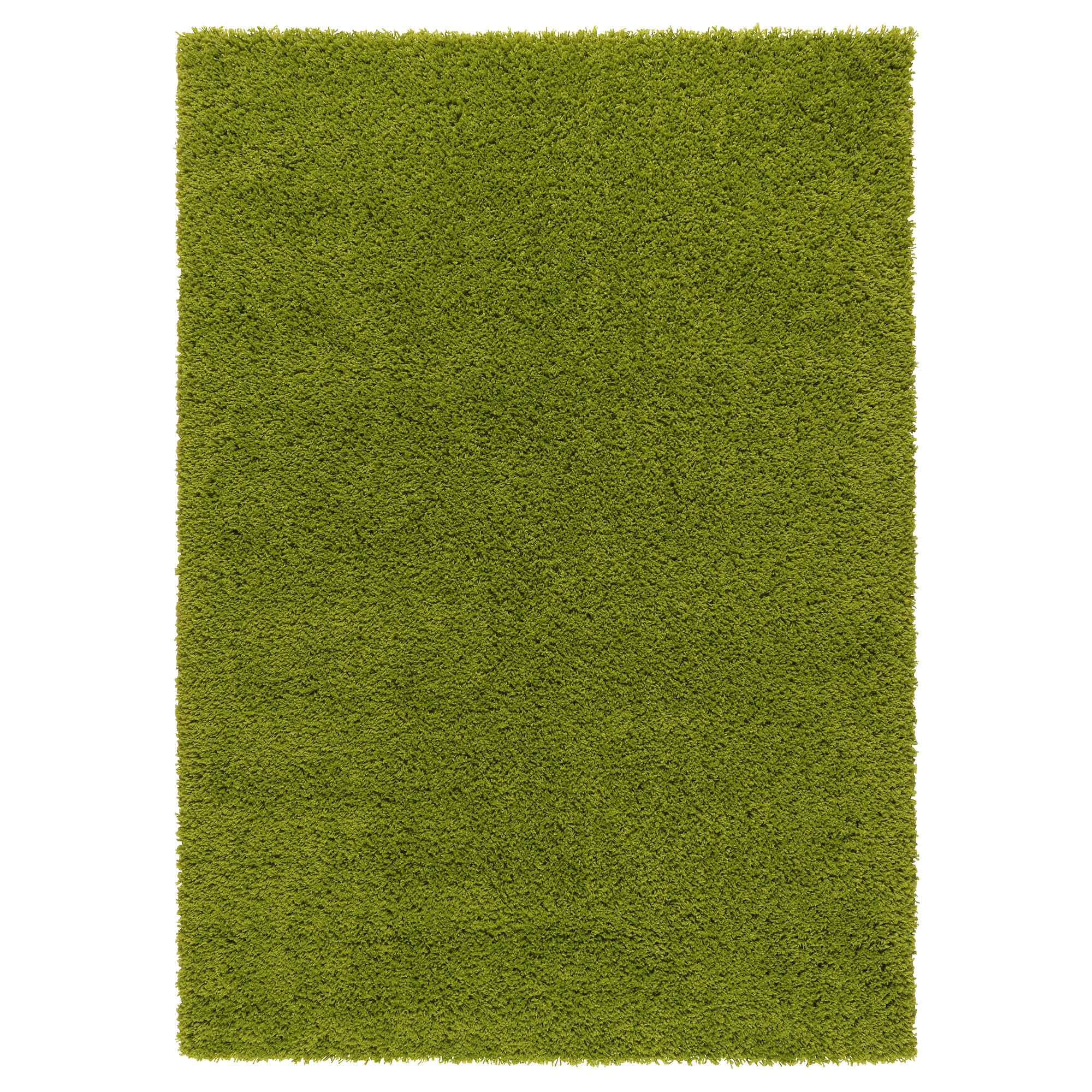 HAMPEN alfombra, pelo largo 133x195 verde