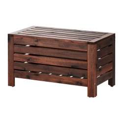 ÄPPLARÖ Storage bench
