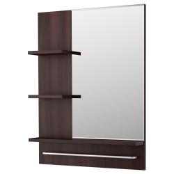 LILLÅNGEN Espejo con estantes