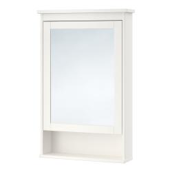 HEMNES Clóset de espejo con 1 puerta
