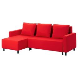 LUGNVIK Sofá cama con chaiselongue