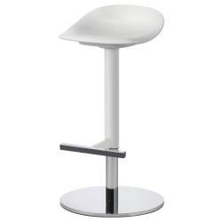 JANINGE Bar stool white