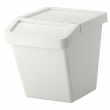 SORTERA Cubo clasificar residuos con tapa