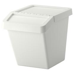 SORTERA Cubo de reciclaje con tapa