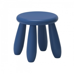 MAMMUT Taburete para niños azul oscuro