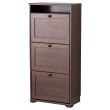 BRUSALI Shoe cabinet with 3 compartments