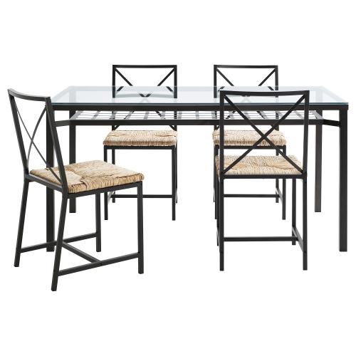GRANÅS Mesa con 4 sillas