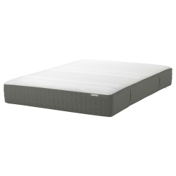 HAUGSVÄR Queen sprung/memory mattress medium firm