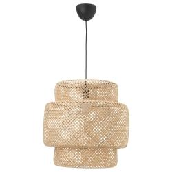 SINNERLIG Lámpara de techo bambú