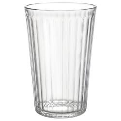 VARDAGEN Vaso de vidrio 43cl, 6 unds.