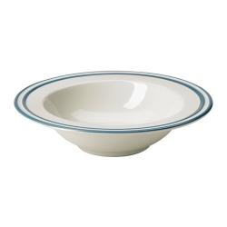 FINSTILT Plato hondo cerámica, Ø 9 ½