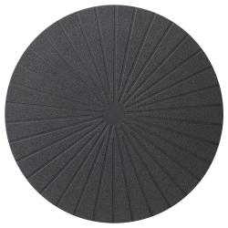 PANNÅ Mantel individual, negro