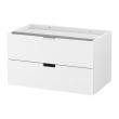 NORDLI Modular chest of 2 drawers