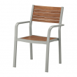 SJÄLLAND Chair with armrests, outdoor