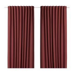 ANNAKAJSA Block-out curtains, 1 pair