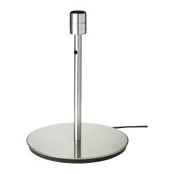 SKAFTET Pie para lámpara de mesa niquelado E27