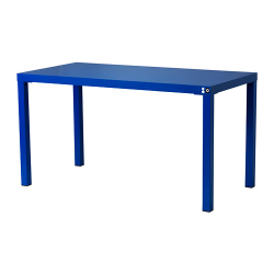 FÖRNYAD Mesa 140x70 cm azul