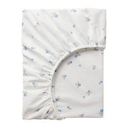 RÖDHAKE Fitted sheet for cot