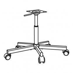 1 x ÖRFJÄLL Chair frame, swivel