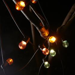 SOLVINDEN Cadena iluminación LED+12 bombillas