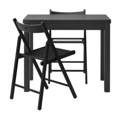 BJURSTA Mesa con 2 sillas