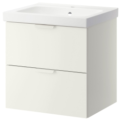 GODMORGON/ODENSVIK Wash-stand with 2 drawers