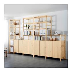 IVAR 5 secciones/estantes/armarios