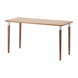 HILVER Mesa de escritorio 140x65 cm