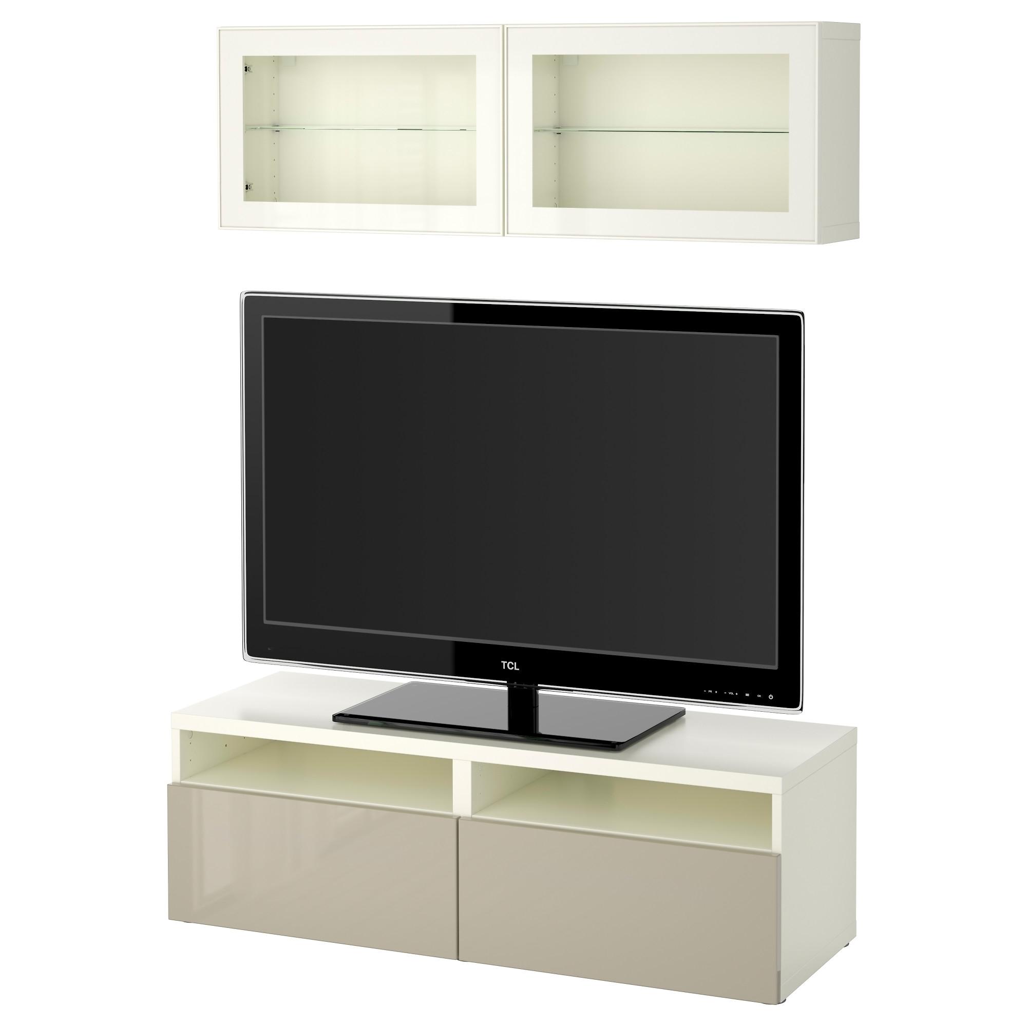 Best 197 Tv Storage Combination Glass Doors