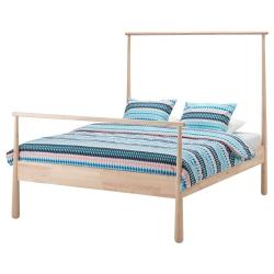 GJÖRA Estructura cama 160 + somier LÖNSET