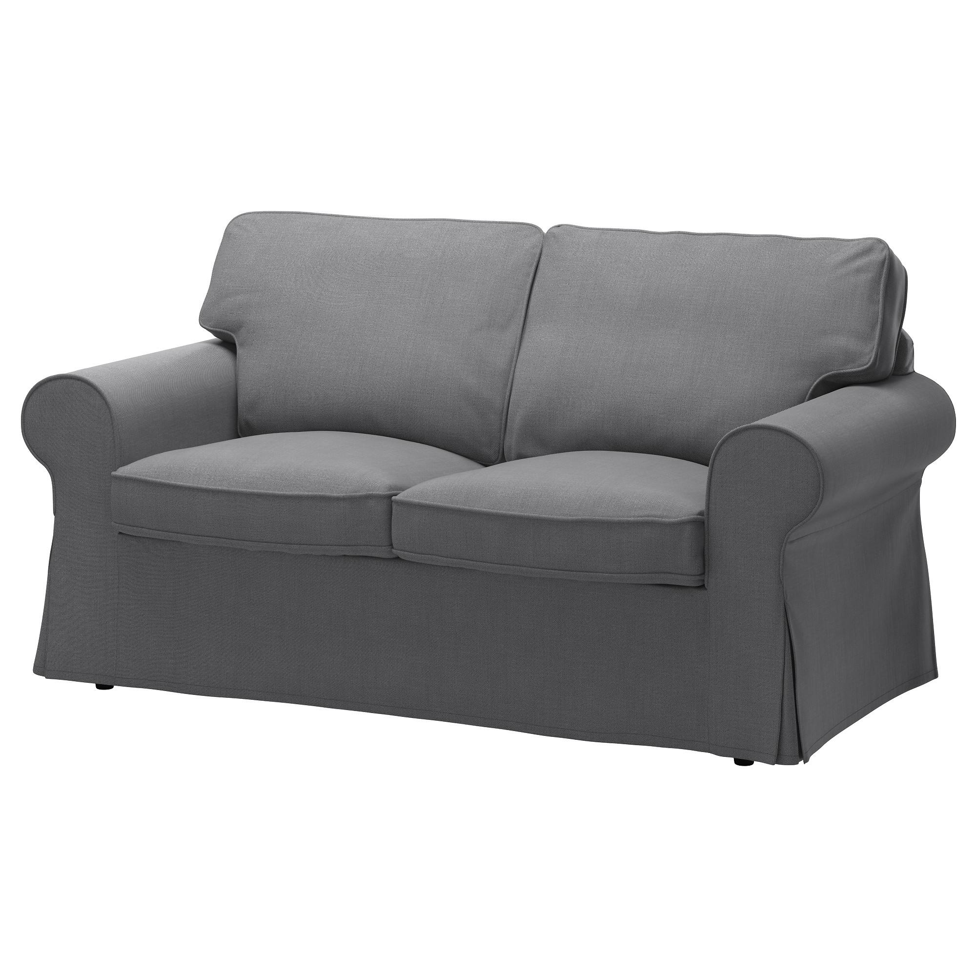 Ektorp Two Seat Sofa Nordvalla Dark Grey # Muebles Requinables