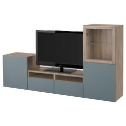 BESTÅ TV stand + storage combination