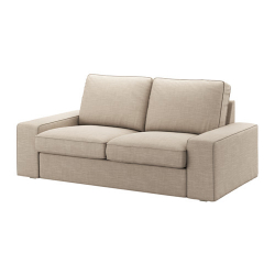 KIVIK Sofá de 2 plazas, HILLARED beige