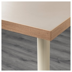 LINNMON/ADILS Mesa de escritorio 120x60 cm beige