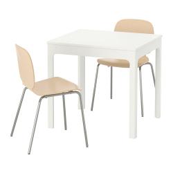 EKEDALEN/SVENBERTIL Mesa y dos sillas