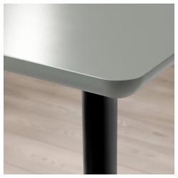 ÅMLIDEN/OLOV Mesa de escritorio 120x60 cm con patas extensibles