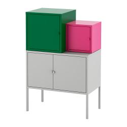 LIXHULT Combinación de armario y estantería